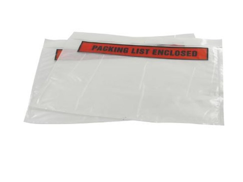 Euro-Label Paklijstenvelop 235x175/220x160mm packinglist enclosed 1000st