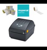 ZEBRA MyParcel Starterspakket - labelprinter + 1.200 labels