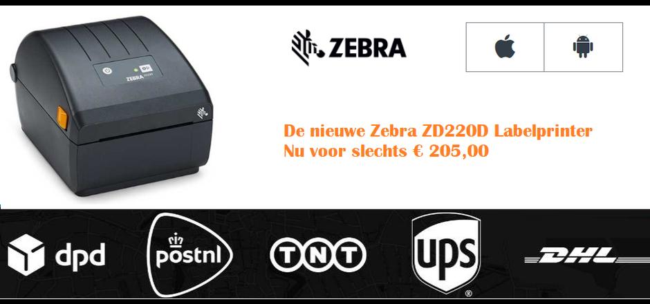 Zebra ZD220D voor de allerbeste prijs
