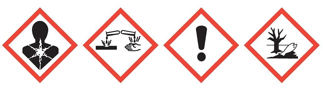 Etiketten voor chemische producten en industrie, bestel je bij Euro-Label BV