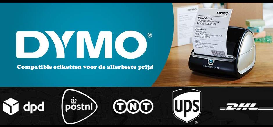 Compatible Dymo Etiketten voor de allerbeste prijs | Euro-Label BV