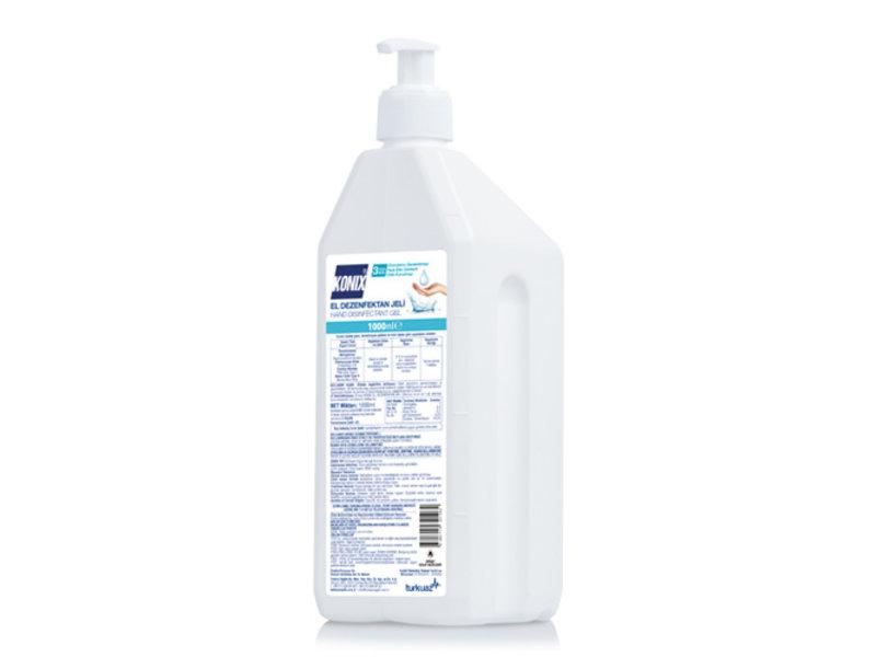 1000 ml Desinfecterende Handgel met pomp - 70% Alcohol (24 stuks)