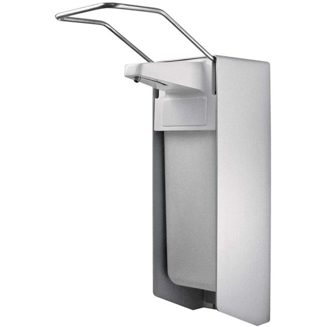 Euro-Label Elleboog dispenser 1.000ML voor desinfectiemiddel of zeep