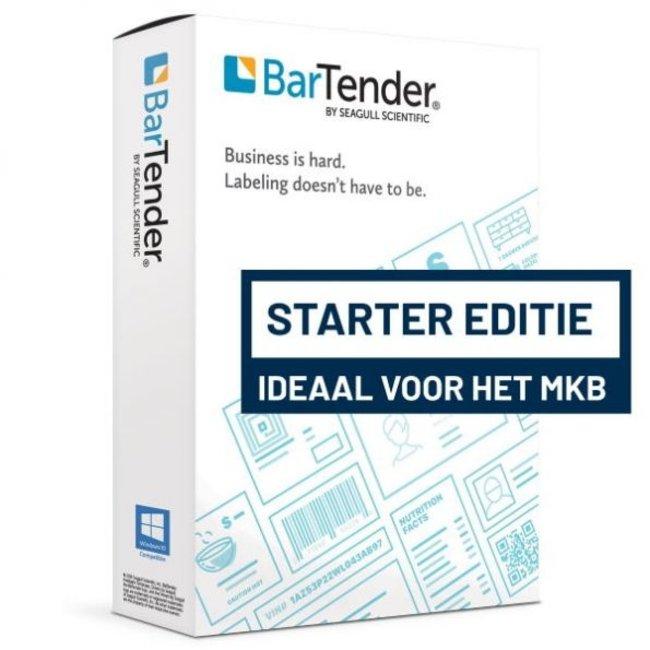 Citizen Label Seagull BarTender 2019 Starter, application license, 1 printer