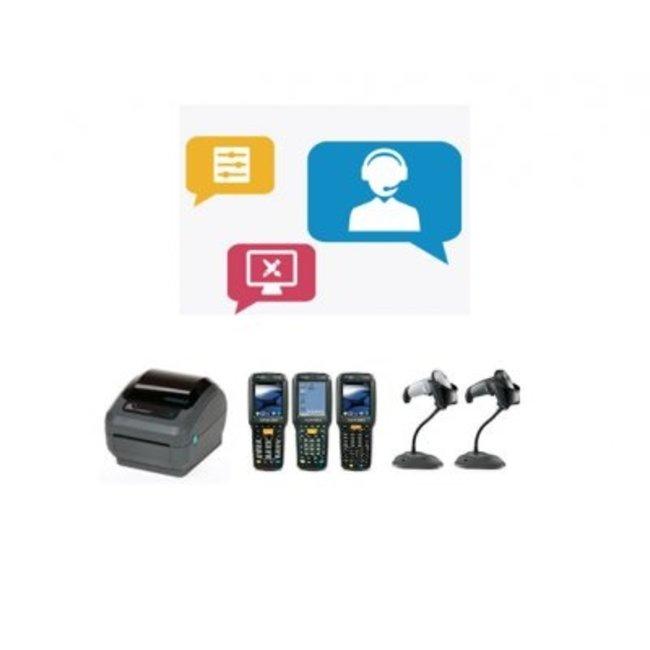 Euro-Label Hulp bij installatie (max. 1 uur per call)