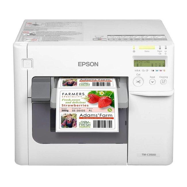 Epson BESPAAR € 40,00 - C3500 kleurenprinter (Inc. etiketten + inkt)
