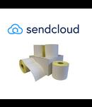 12 rollen Sendcloud etiketten 102x150 mm - 300/rol