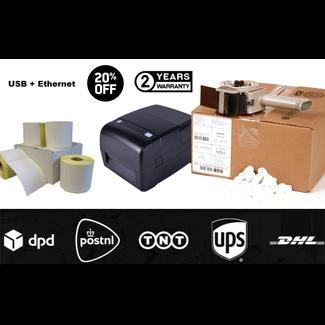 Euro-Label Labelprinter met USB + Netwerk + 3.600 Verzendetiketten