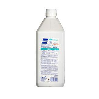 Konix 12 stuks Konix 1000ML Hygienic gel incl. pomp 70% alcohol