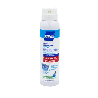 Konix 48 stuks Konix Hand Sanitizer Aerosol Spray 150 ml 70% alcohol