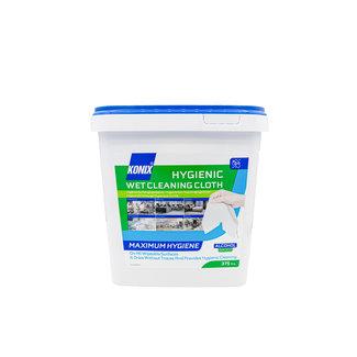 Konix 6 stuks Konix Hygienic Wet Cleaning Wipes Bucket 375 pcs