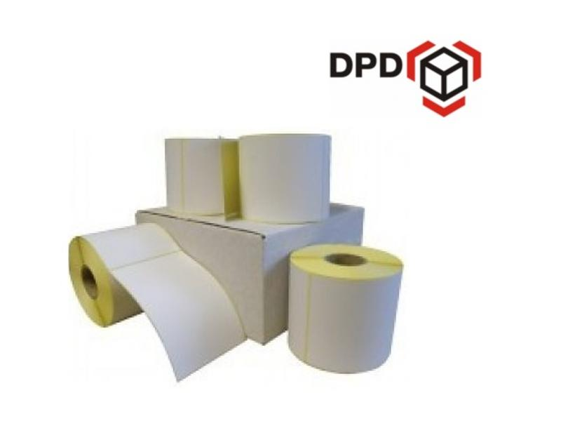 Euro-Label 12 rollen DPD verzendetiket 102x150 mm. Kern 25 mm. 300/rol