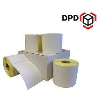 8 rollen DPD verzendetiket 102x150 mm. (kern 76 mm) 1000 per rol