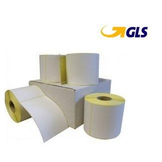 8 rollen GLS verzendetiket 102x150 mm. (kern 76 mm) 1000 per rol