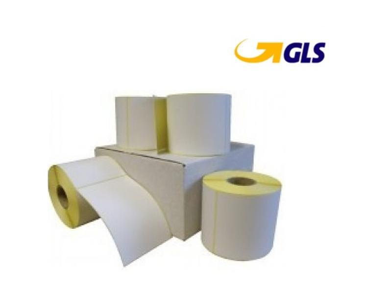 GLS verzendetiket 102x150 mm. (kern 76 mm) 1000 per rol