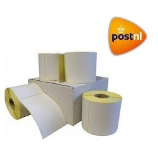 Euro-Label 12 rollen PostNL verzendetiket 102x150 mm. Kern 25 mm. 300/rol