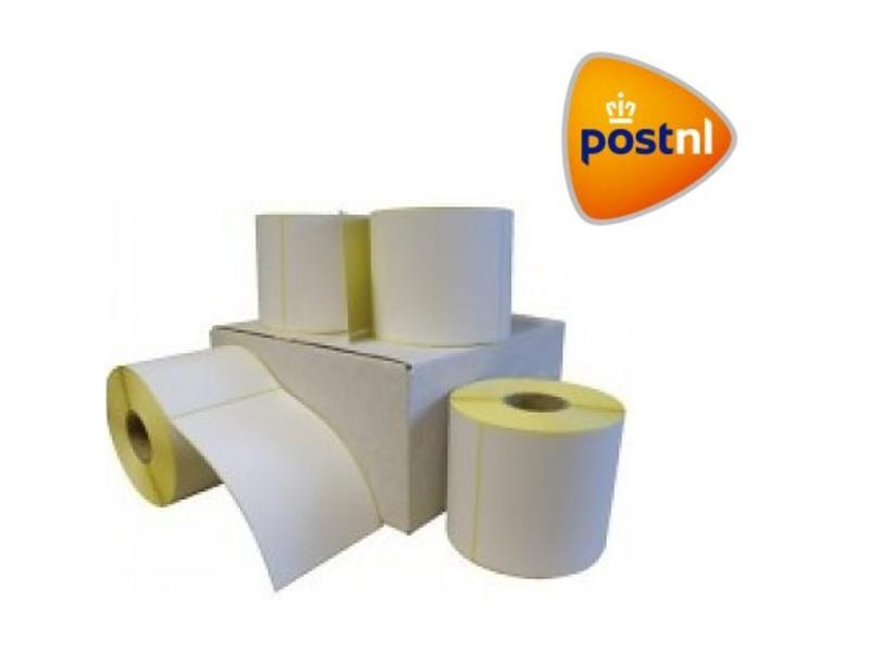 PostNL verzendetiket 102x150 mm. (kern 76 mm) 1000 per rol