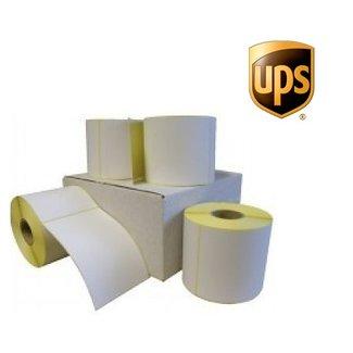 Euro-Label 12 rollen UPS verzendetiket 102x150 mm. Kern 25 mm. 300/rol
