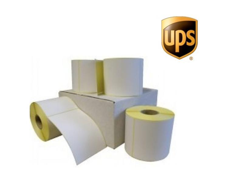 UPS verzendetiket 102x150 mm. (kern 76 mm) 900 per rol
