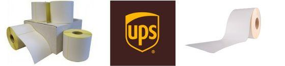 Verzendetiketten UPS