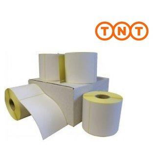 Euro-Label 12 rollen TNT verzendetiket 102x150 mm. Kern 25 mm. 300/rol