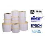 Uncoated Direct thermisch papieren labels met permanente belijming