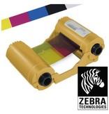 Zebra Ribbon - Printlint kleur - YMCKO - Dye Sublimation, Thermal Transfer - 280 Image