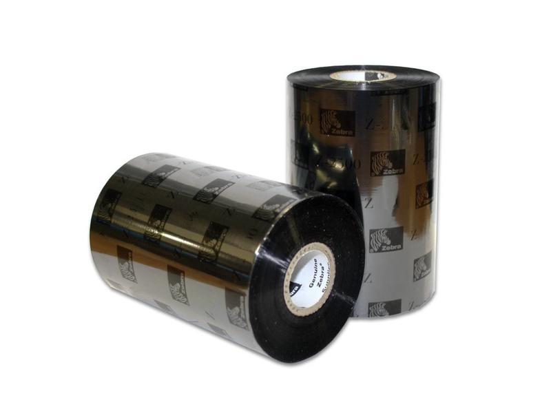 12 stuks Zebra Ribbon - zwart - Thermal Transfer - 02300BK11045