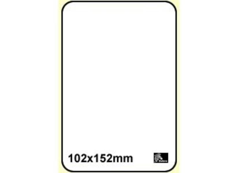 4 x Zebra Z-Select 2000D - 101x152 - 950/rol - permanent - 200963