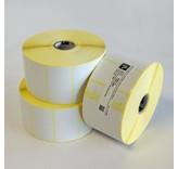 Zebra Z-Select 2000D - Permanente lijm - 25x76mm - 930/Rol - Rechthoek - Direct Thermisch - Helder wit - Papier - 12 per doos