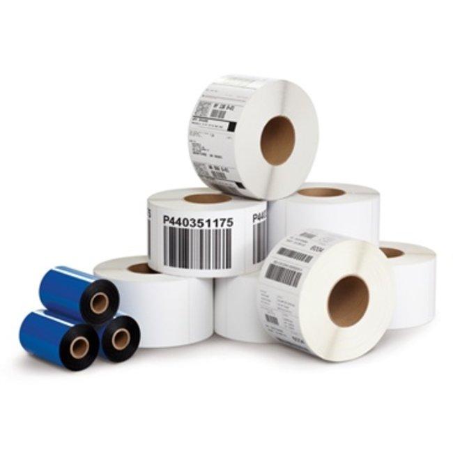 12 rollen a 800 labels - 100x90mm - Vellum