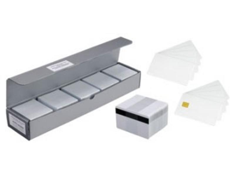 Plastic cards, re-writable, 100 pcs.