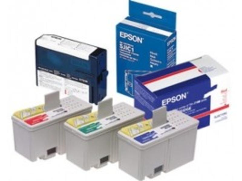 Epson inktpatronen, rood
