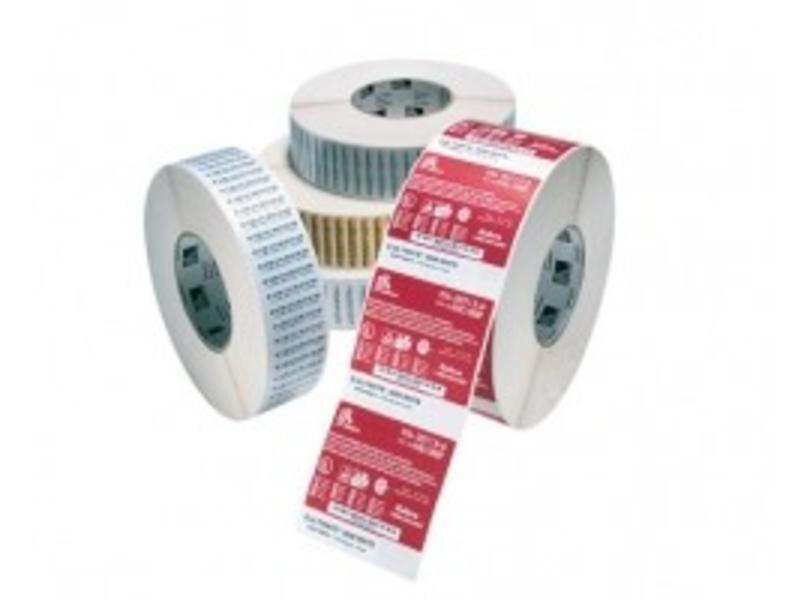 12 rollen Zebra Z-Perform 1000D, labelrol, thermisch papier, 102x38mm