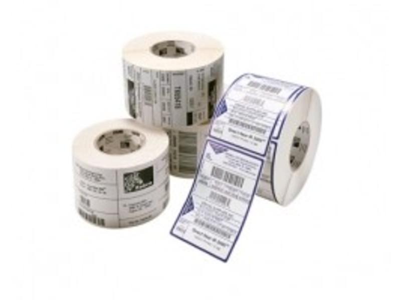NAKAGAWA labelrol, normaal papier, 76x25mm