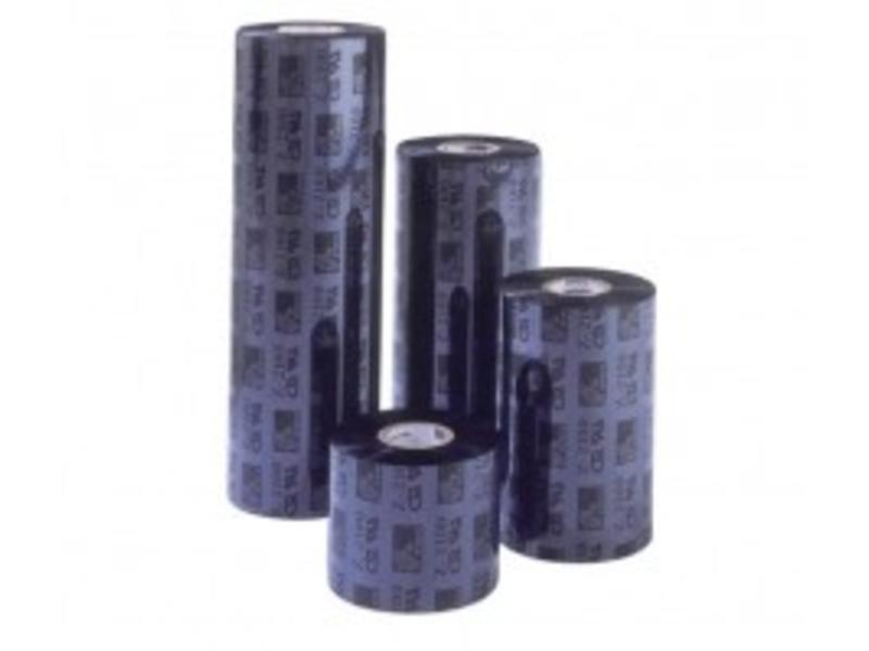 ARMOR thermisch transfer lint, APR 6 wax/hars, 64mm, zwart