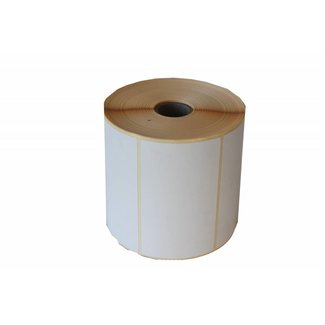 12 rollen a 1250 labels - 100x60 Thermo Eco