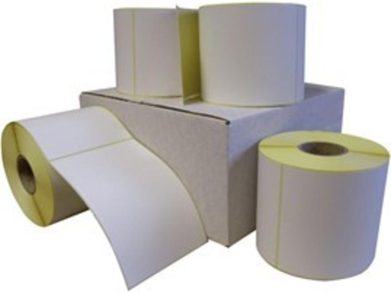 24 rollen 100 x 150 mm - Thermal ECO / permanent - Kern 76mm - 600/rol