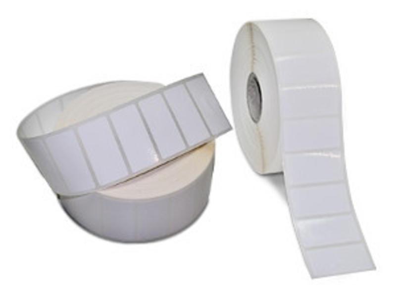 100 x 60 mm - Kunstof - PE Glossy - extra permanent - 2500 labels per rol
