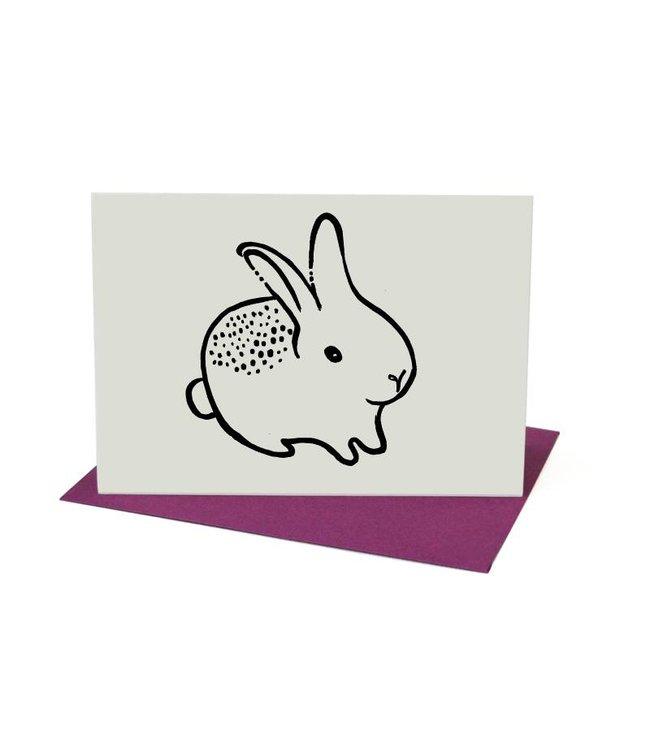Wee Gallery Kaart - konijn