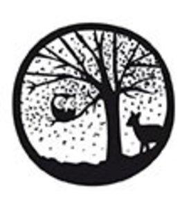 Rico Design Houten stempel - boom en uil