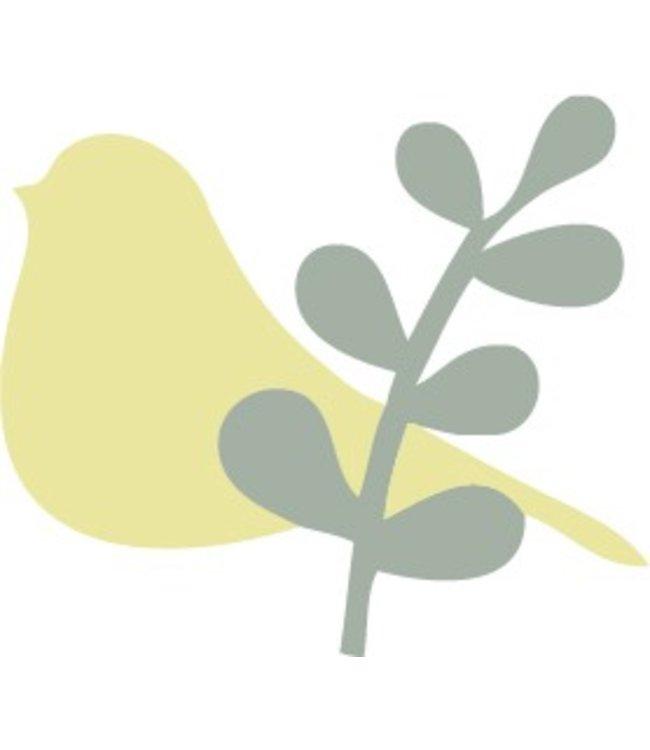 Rico Design Strijkapplicatie - vogel