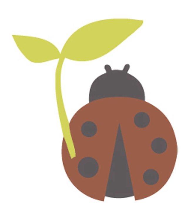 Rico Design Strijkapplicatie - lieveheersbeestje