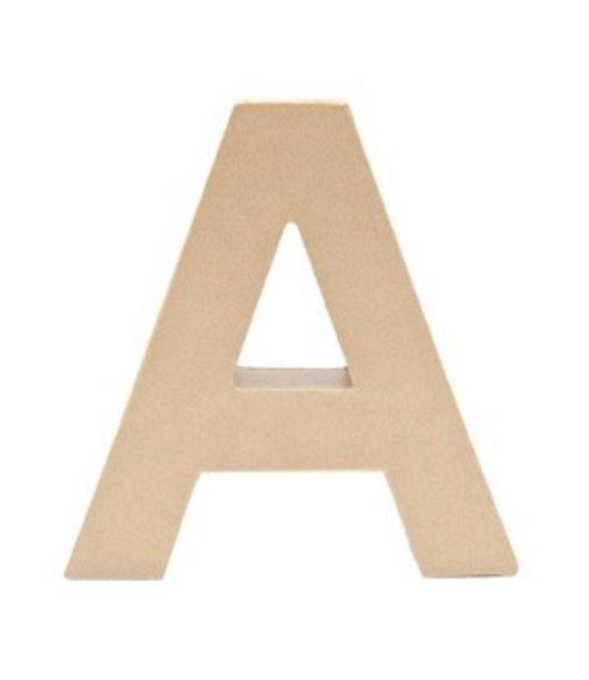 Rico Design Papier-maché letters groot - kraft