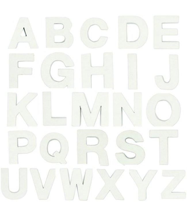 Rico Design Papier-maché letters - wit