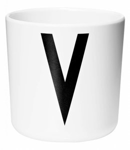 Design Letters Melamine beker - V