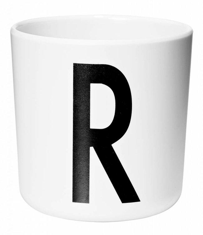 Design Letters Melamine beker - R