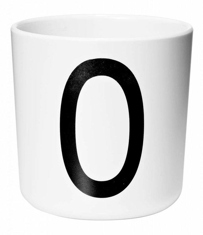 Design Letters Melamine beker - O