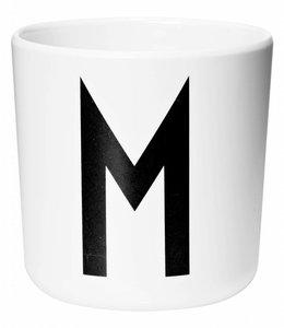 Design Letters Melamine beker - M