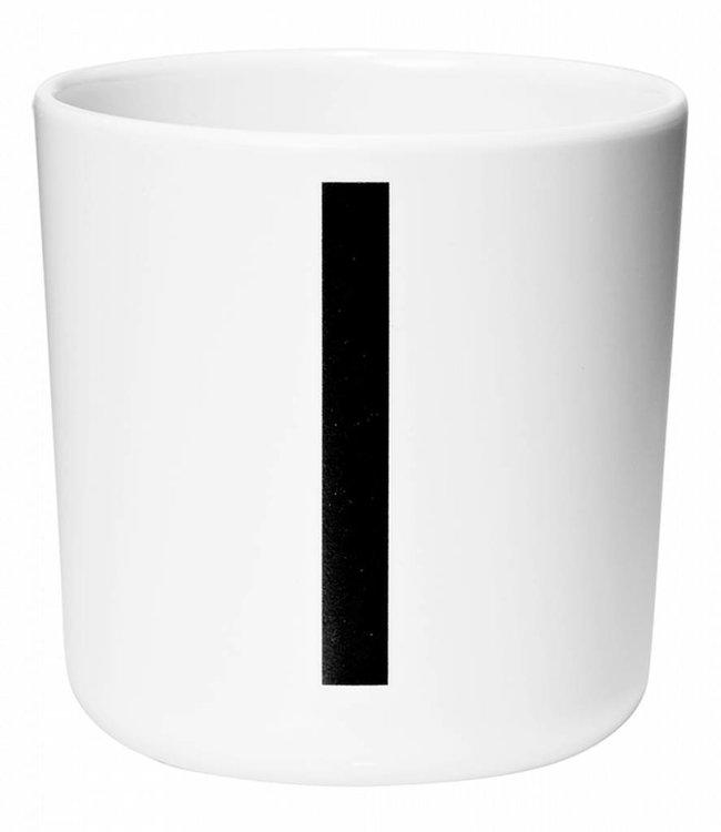 Design Letters Melamine beker - I